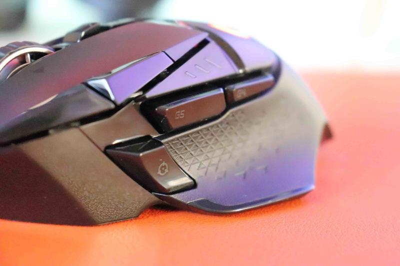 「G502WL」のサイドボタン