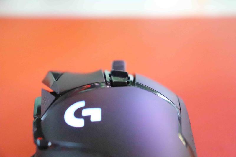 「G502WL」のクリックボタン形状