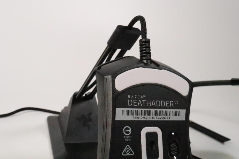 「DeathAdder V2」のソール