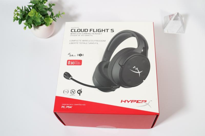「Cloud Flight S」の箱デザイン