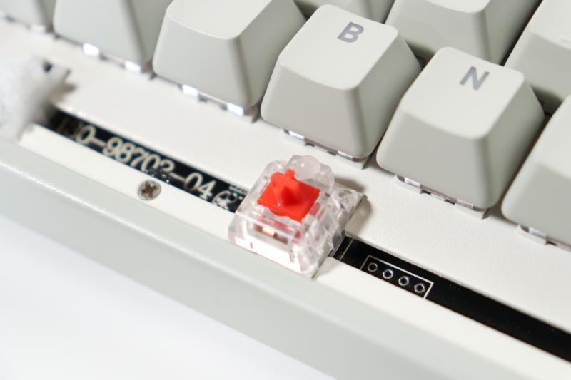 K4 TKL RGB キーの耐久性
