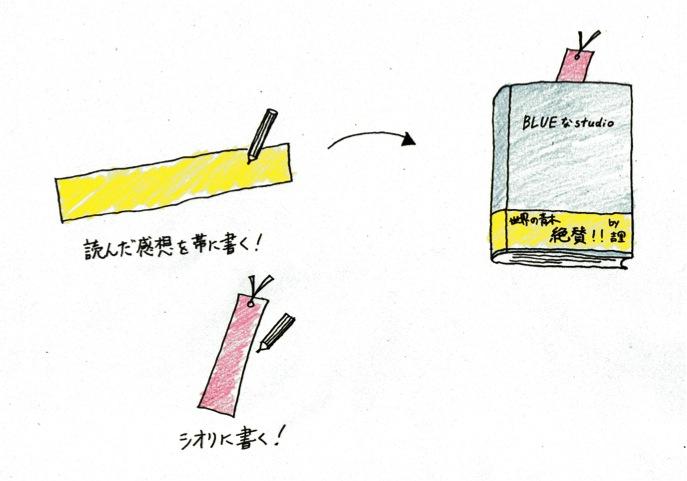 ブックカバー&しおり