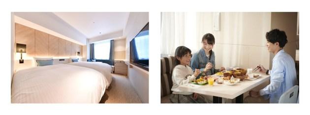 ベッセルホテルの全ホテルにて18歳以下の子供の添い寝が無料に