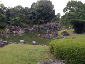 二条城の池