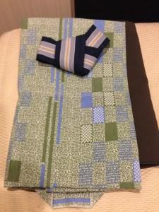 三井ガーデンホテル京都四条の浴衣