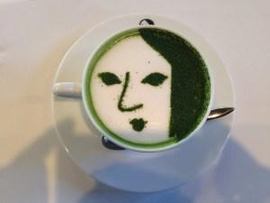 よーじやカフェ 嵐山 抹茶ラテ