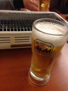 焼き肉 ビール