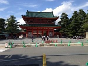 京都 平安神宮 入り口