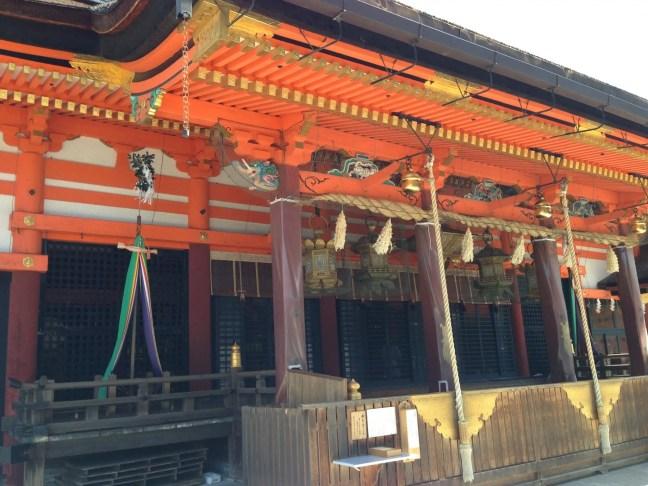 京都 八坂神社 本殿 写真その3