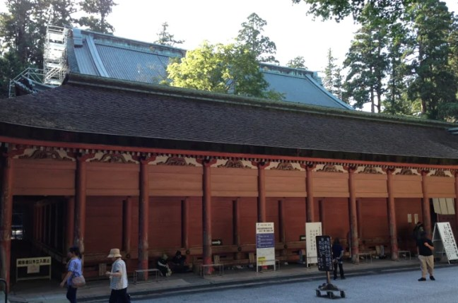 8月の比叡山延暦寺 根本中堂