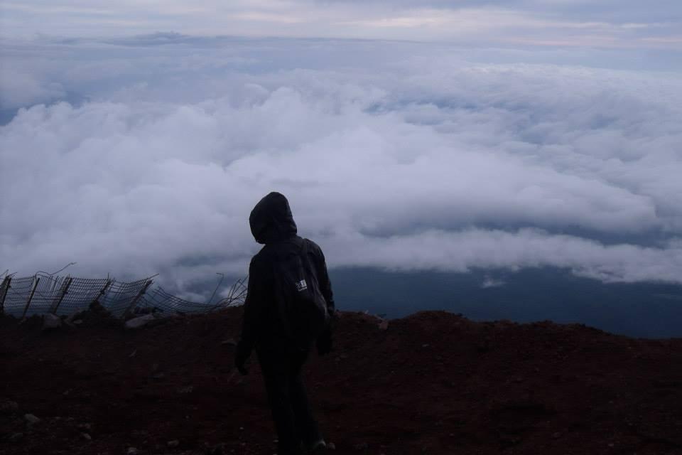 mount fuji descent