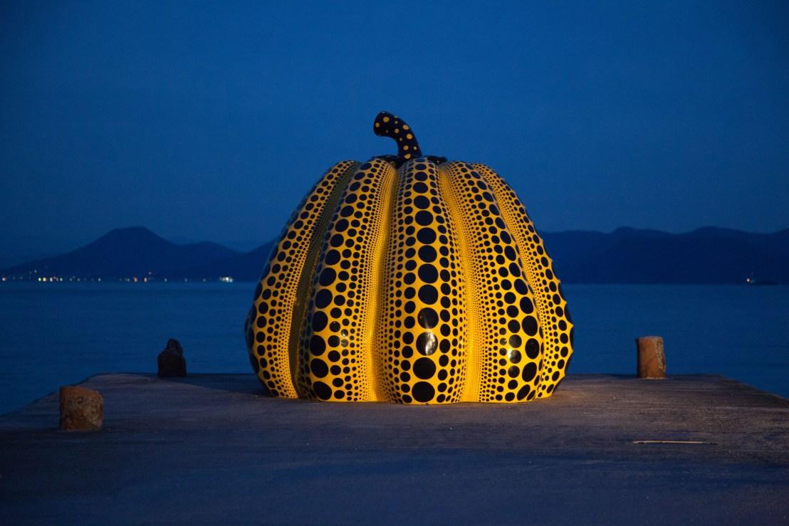 Naoshima art island in Japan