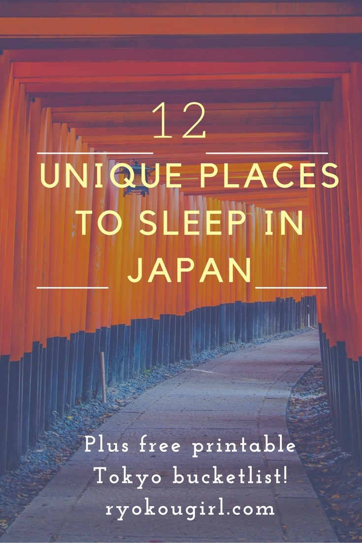 12 unique and unusual places to stay in Japan that you won't find anywhere else