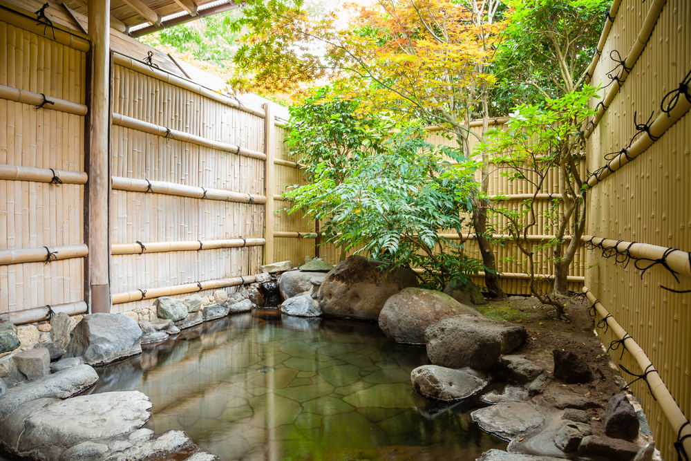 things to do in Japan in winter - visit an onsen