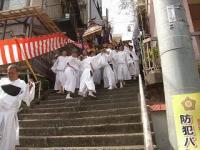 伊豆山神社の神輿