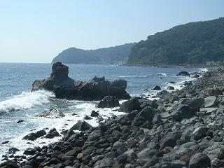 ライオン岩 遠景