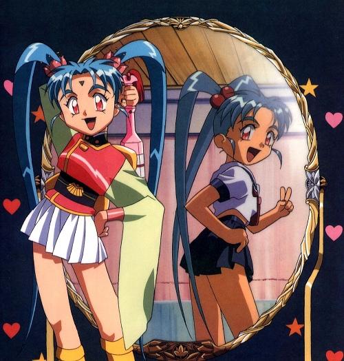 Christmas Anime Girl Wallpaper Magical Girl Pretty Sammy Ryo Ohki S Anime Loft