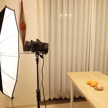 傘で撮影イメージ