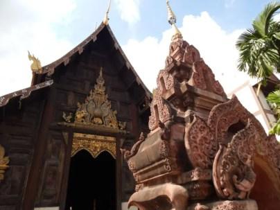 チェンマイ旧市街のWhat Phan Tao