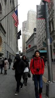 ニューヨークのウォールストリート