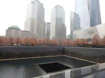 ニューヨークの9・11メモリアルパーク