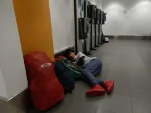 リマのホルヘ・チャベス国際空港