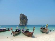 タイのクラビの4島ツアー