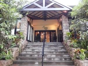 マチュピチュ遺跡入口のホテル