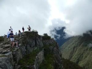マチュピチュ山の頂上