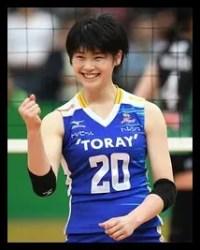 黒後愛,日本代表,バレーボール
