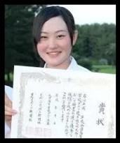 三浦桃香,プロゴルファー,高校時代