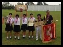三ヶ島かな,女子プロ,ゴルフ,中学時代