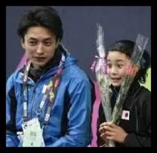 白岩優奈,女子フィギュア,スケート,コーチ,イケメン,田村岳斗