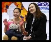 アリサ・リウ,フィギュアスケート,女子,コーチ