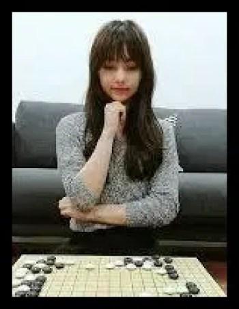 黒嘉嘉,プロ,棋士,囲碁,台湾,モデル,可愛い