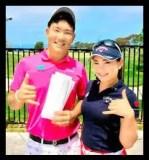 河本結,ゴルフ,女子プロ,かわいい,弟