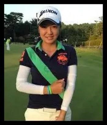 林菜乃子,ゴルフ,女子プロ,高校時代