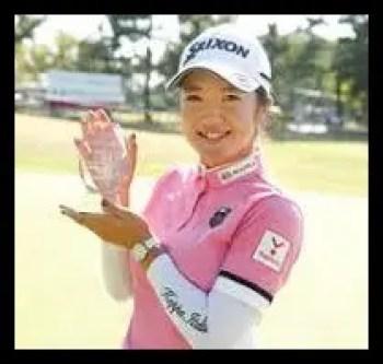 林菜乃子,ゴルフ,女子プロ