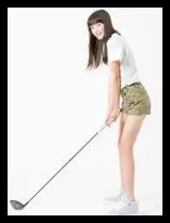 茅島みずき,女優,可愛い,ゴルフ
