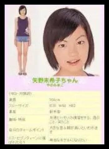 矢野未希子,ファッションモデル,若い頃,かわいい