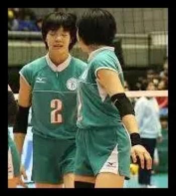 長内美和子,バレーボール,全日本女子,中学,高校
