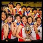 中川美柚,バレーボール,全日本女子,中学,高校