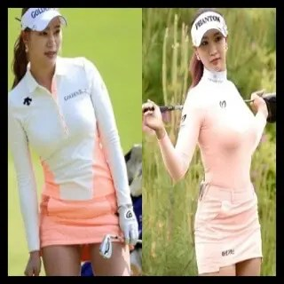 ユ・ヒョンジュ,ゴルフ,韓国,女子プロ,モデル,可愛い,ウェア
