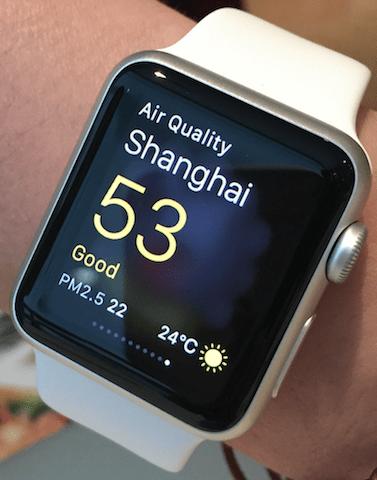 Apple Watchを大阪と上海で使ってみた Ryoのブログ