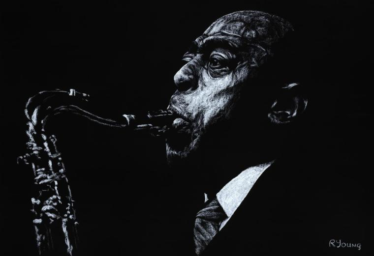 The Jazz Legend - Archie Shepp. Produced in cooperation with Edward Molnar.