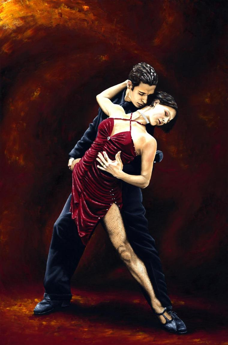 Dancers - Tango and Ballroom Gallery. The Passion of Tango. Produced in cooperation with Natalie Laruccia, Walter Perez and Sandra Antognazzi.