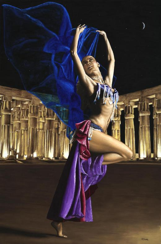 Sun Court Dancer - Myryka. Produced in cooperation with Myrka and Ed Flores.