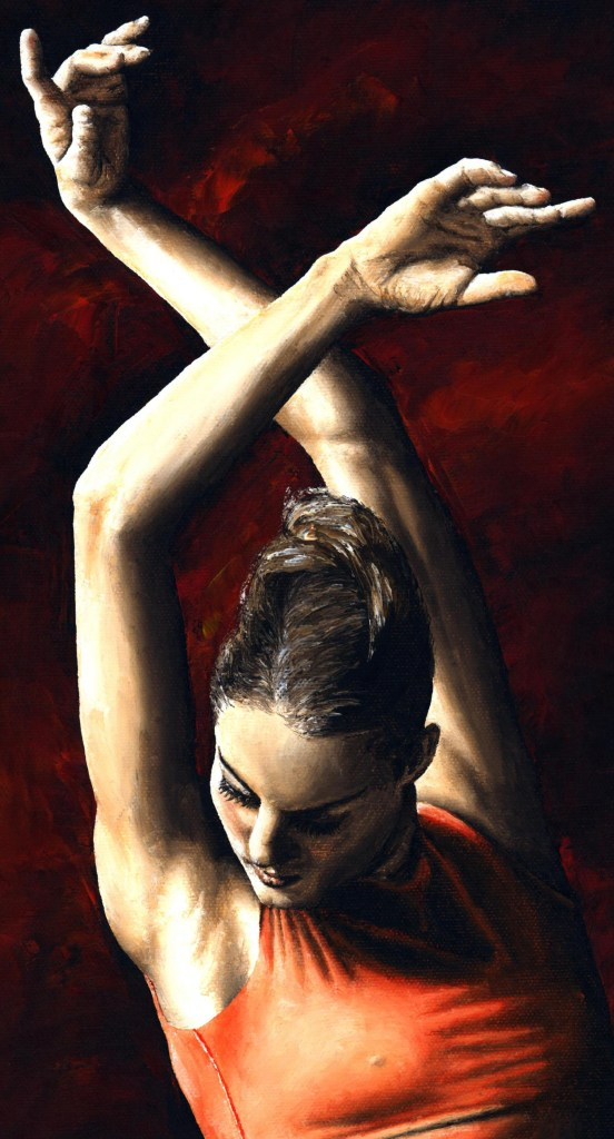 The Passion of Dance - High resolution detailed close up