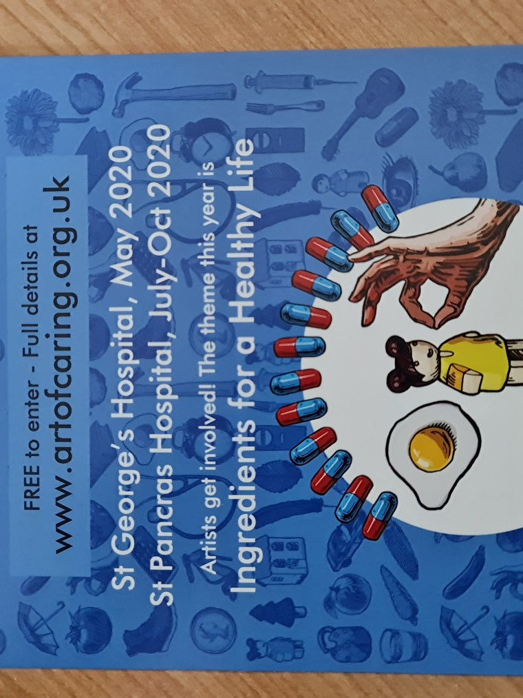 The Art of Caring NHS Charity Flyer