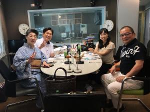 ラジオ大阪の収録
